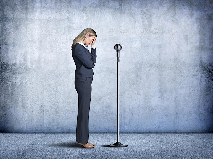 Conquer Your Fear of Public Speaking -Montreal- Virtual Free Trial Class image