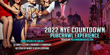 Hollywood Pub Crawl New Year's Eve Party tickets
