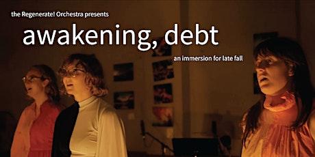 awakening, debt // Detroit // Kate von Bernthal and Regenerate! tickets
