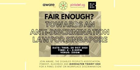 Fair Enough? Towards an anti-discrimination law for Singapore tickets