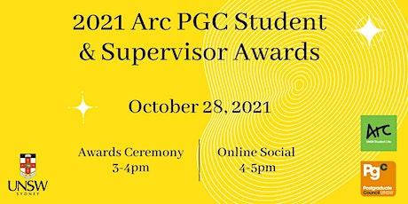 2021 UNSW Arc PGC Student & Supervisor Awards tickets