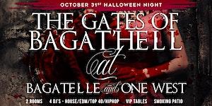 Bagatelle LA Halloween 2015