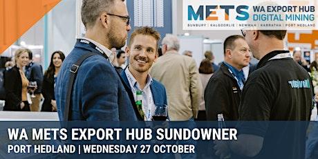 C-RES & AUSTMINE WA METS Export Hub Sundowner tickets
