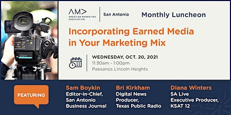 Incorporating Earned Media in your Marketing Mix tickets