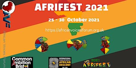 African Voices Forum (AVF) Afrifest 2021 tickets