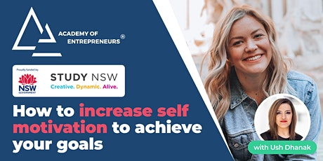 How to increase self-motivation to achieve your goals tickets