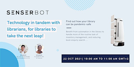 Technology in tandem with librarians, for libraries to take the next leap! tickets
