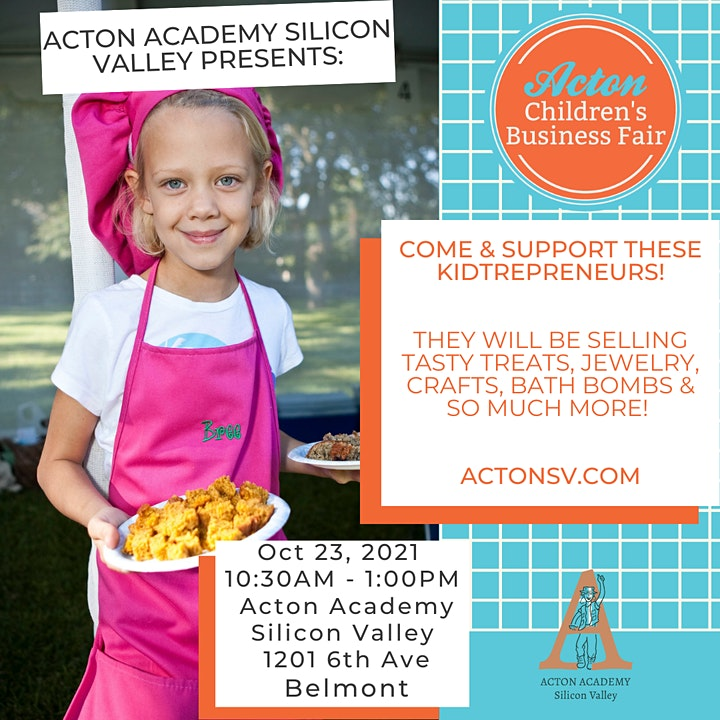 Acton Academy Silicon Valley - Children's Business Fair image