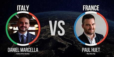 Italy vs France Night tickets