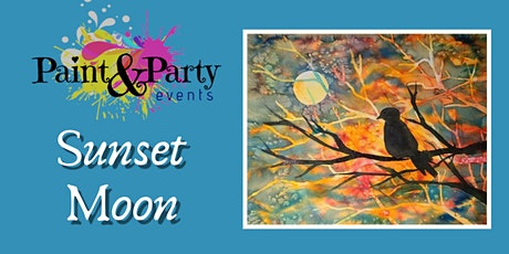 Sunset Moon Paint & Party Event tickets