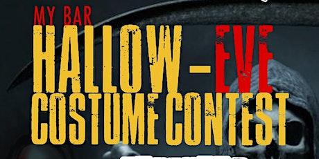 HALLOW-EVE COSTUME CONTEST @MYBAR SATURDAY NIGHT tickets