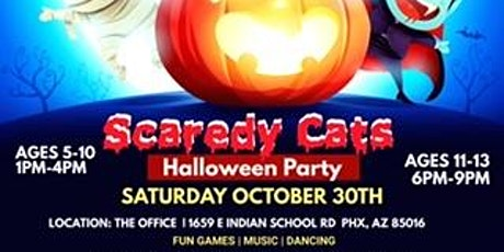 Scaredy Cats Kids Halloween Party tickets
