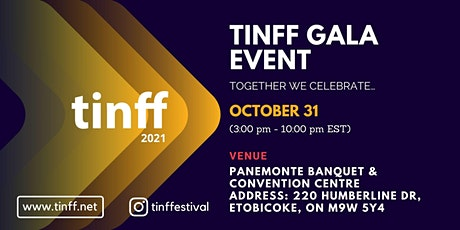 TINFF GALA EVENT 2021 tickets