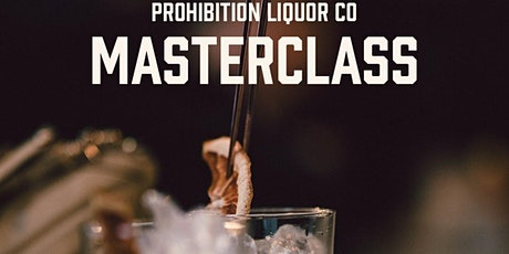Gin Masterclass feat. Prohibition Gin Brand Ambassador Matthew Fosdike tickets