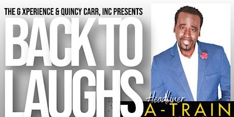 Back To Laughs Comedy Series   Gastonia, North Carolina tickets