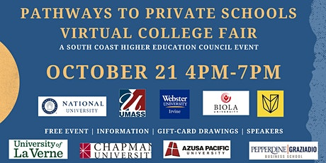 Pathways to Private Schools Virtual College Fair tickets