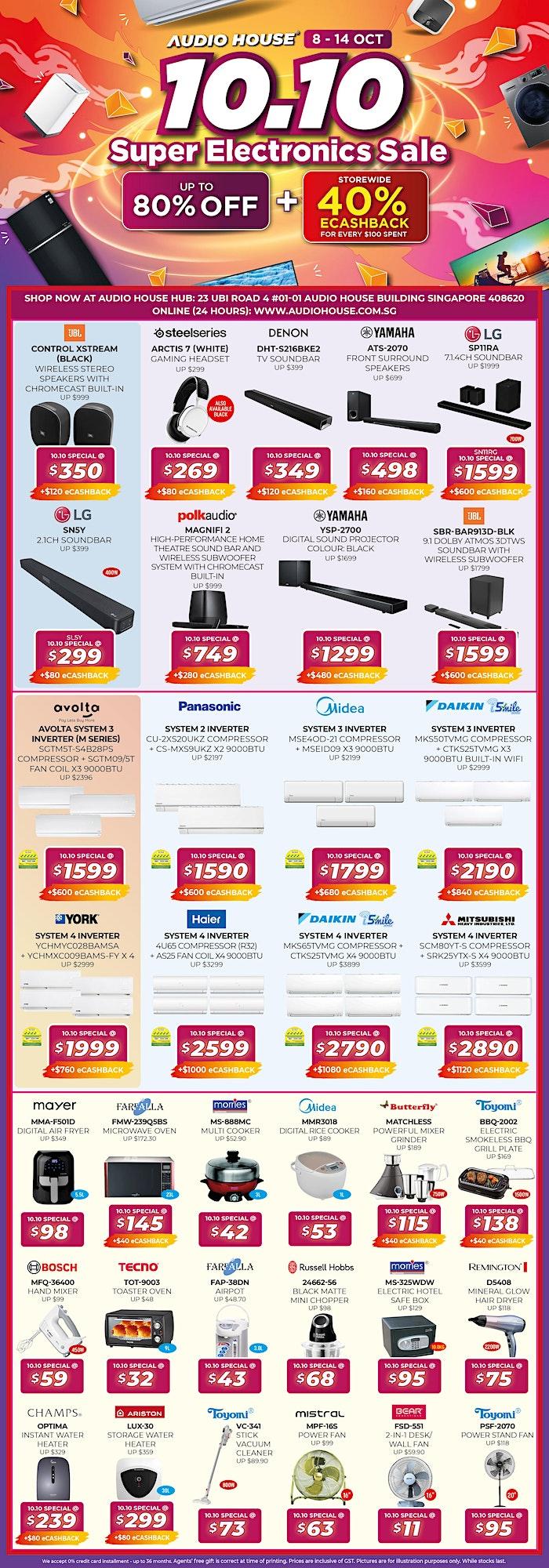 Audio House 10.10 Super Electronics Sale image