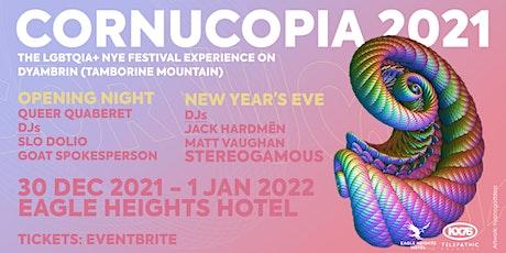 CORNUCOPIA 2021: The LGBTQ+ NYE Festival on Dyambrin (Tamborine Mountain)! tickets