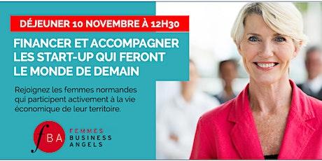 Déjeuner FBA Femmes Business Angels Normandie billets