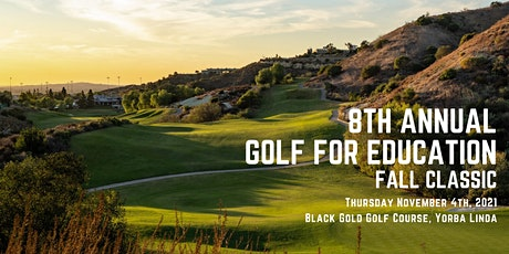 8th Annual Golf for Education Fall Classic tickets