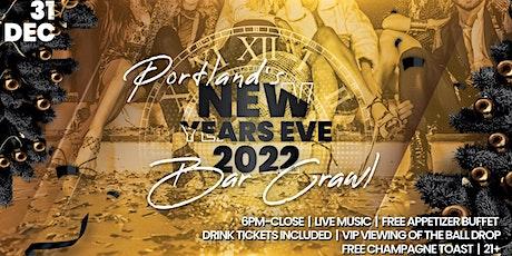 Portland NYE  Bar Crawl tickets