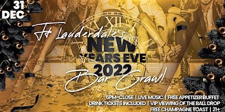 Ft Lauderdale NYE Bar Crawl tickets