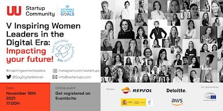 V Inspiring Women Leaders Impacting Your Future entradas