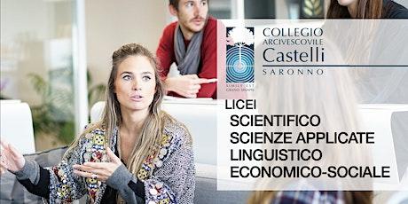 Open Day 2021 Licei Collegio Castelli biglietti