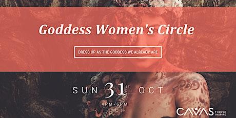 October Women's Circle tickets