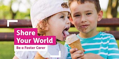 Live Foster Care Information Webinar (SA) tickets