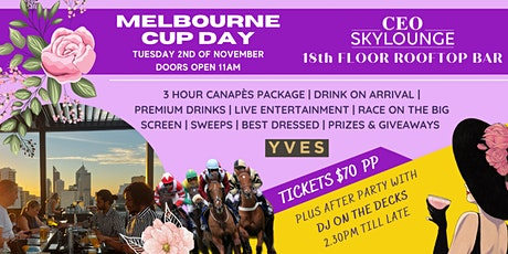 Melbourne Cup Day at the CEO Skylounge Rooftop Bar tickets