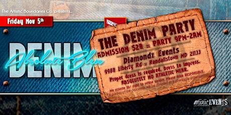 "The Denim Party - ""Absolute Bleu 2"" tickets"