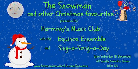 The Snowman and Other Family Festive Favourites tickets