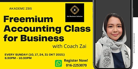 Freemium Accounting Class for Business tickets