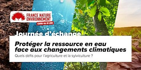 Protéger la ressource en eau  face aux changements  climatiques billets