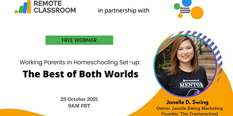 Working Parents in Homeschooling Set-up:   The Best of Both Worlds tickets