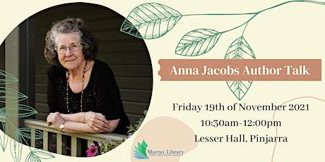 Anna Jacobs Author Talk tickets