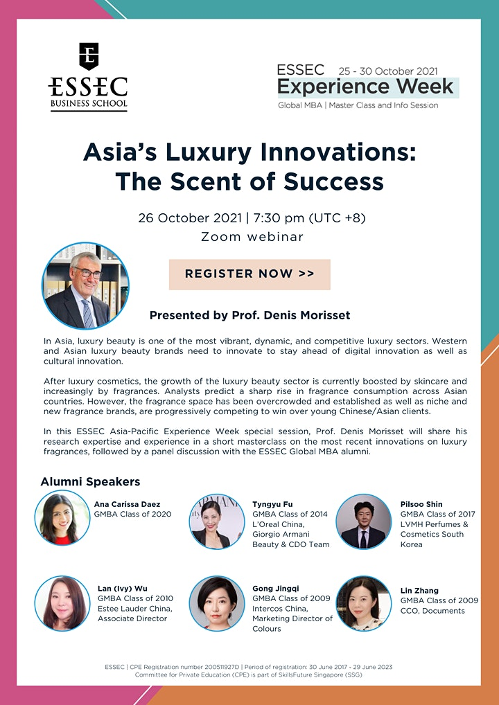 Asia's luxury innovations: The scent of success by Prof. Denis Morisset image