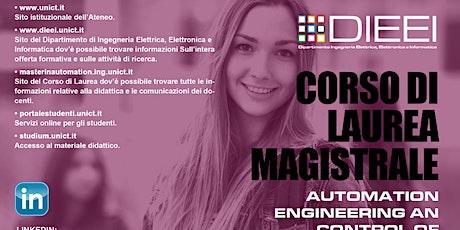 Automation Engineering Meeting 21/22 biglietti