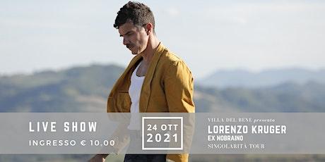 Lorenzo Kruger a Villa Del Bene biglietti