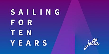 Jolla 10 years celebration in Helsinki, October 28 tickets