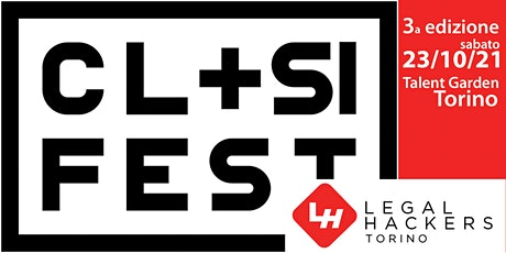 Computational Law & Social Impact Festival 2021 - Torino Node biglietti
