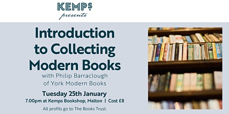 Introduction to Collecting Modern Books with Philip Barraclough tickets