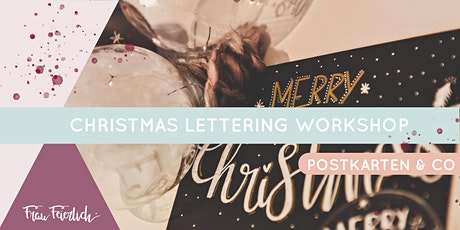 Christmas Lettering Workshop Tickets