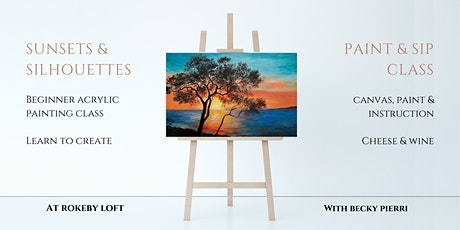 Sunsets & Silhouettes: Paint & Sip tickets