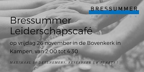 Bressummer Leiderschapscafé @ Bovenkerk in Kampen: tickets