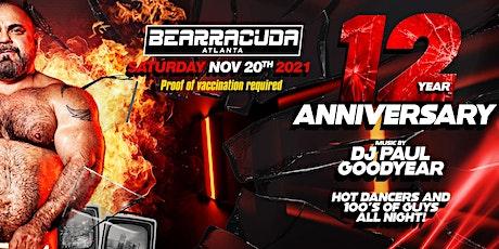 Bearracuda Atlanta 12 Year Anniversary! tickets
