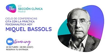 CONFERENCIA Miquel Bassols - Autoridad y autoritarismo entradas