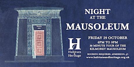 Night at the Mausoleum tickets