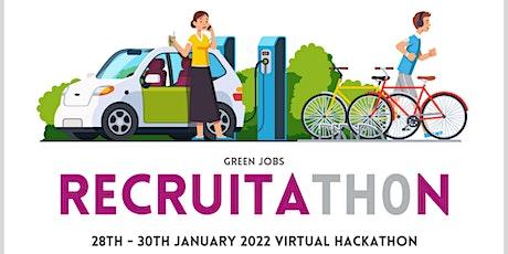 RecruitaTH0n (Green Jobs) Virtual Hackathon 2022 tickets